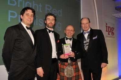 At the IPA awards